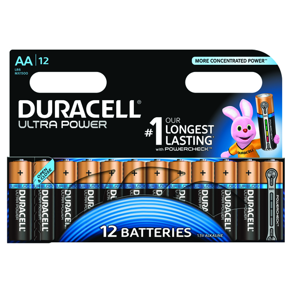 Duracell Ultra Power AA Batteries (12 Pack) 75052877