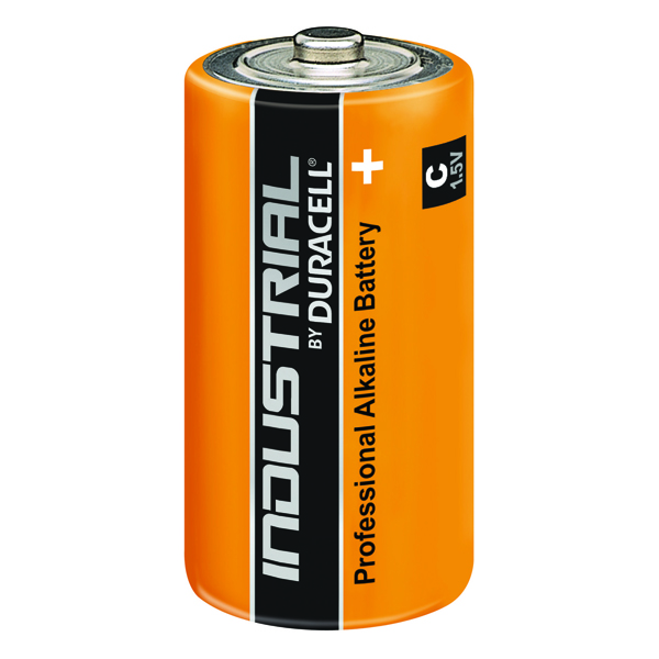 Duracell Industrial C Alkaline Batteries 81451925 (10 Pack)