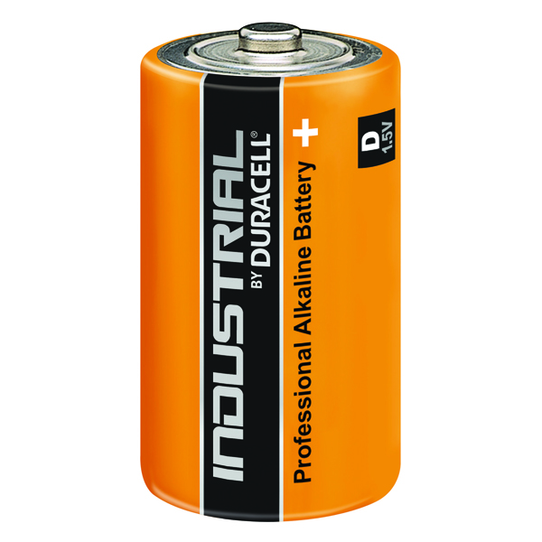 Duracell Industrial D Alkaline Batteries 81451917 (Pack of 10)