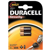 Duracell Car Alarm Battery 12V MN21 Pack of 2 75072670