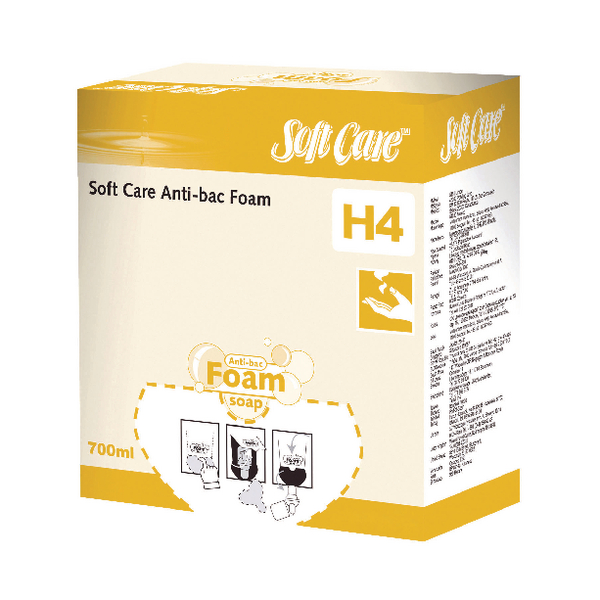 Diversey Soft Care H4 Antibacterial Foam Soap 700ml (6 Pack) 7514369