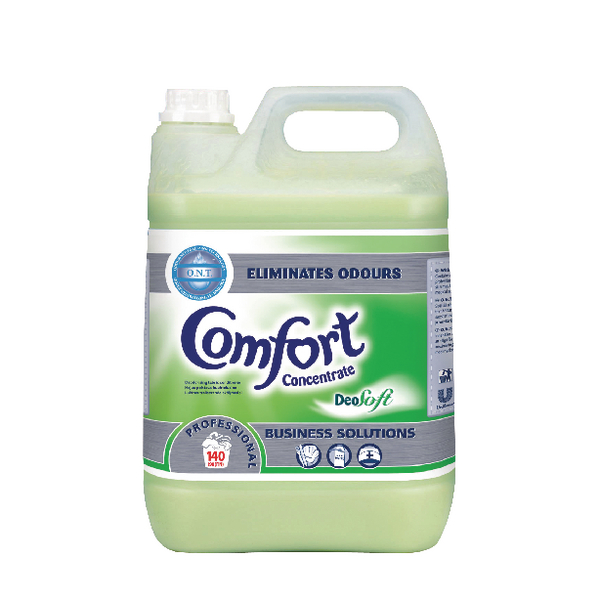 Diversey Comfort Professional Deosoft Fabric Conditioner Concentrate 5 Litre (Pack of 2) 100833958