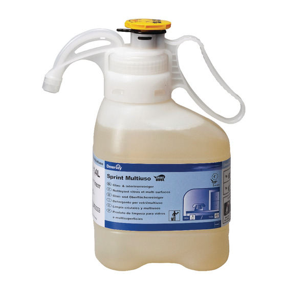 Diversey Taski Sprint 200 Pur-Eco SmartDose Multi-Purpose and Glass Cleaner 1.4 Litre 7517837