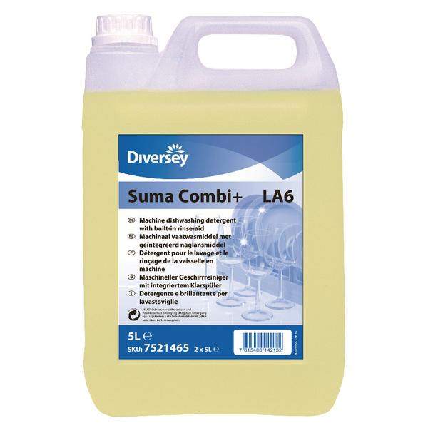 Suma Combi 2 in 1 Rinse Aid Detergent P2