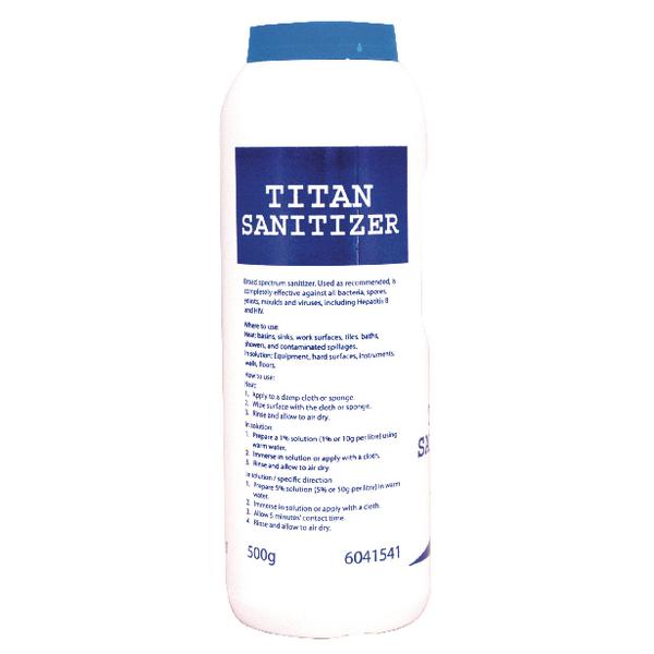 Diversey Titan Sanitiser Detergent Powder 0.5kg 100884197