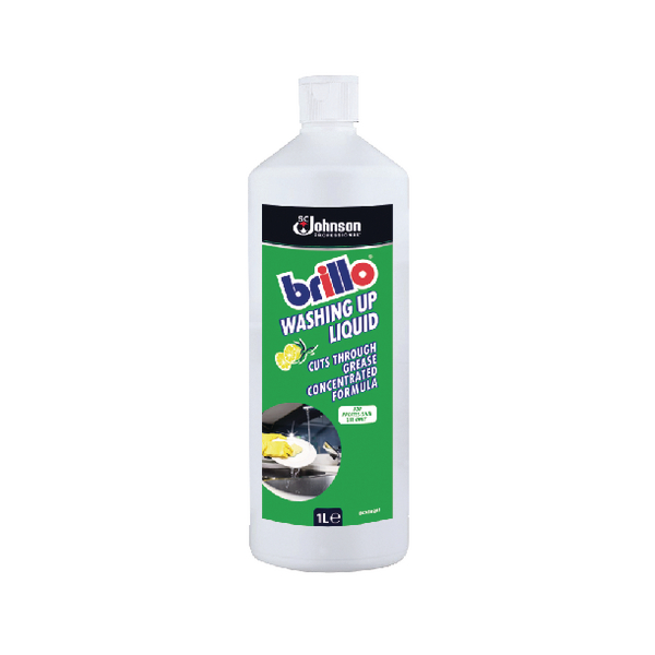 Brillo Conctd Washing Up Liquid 1Ltr
