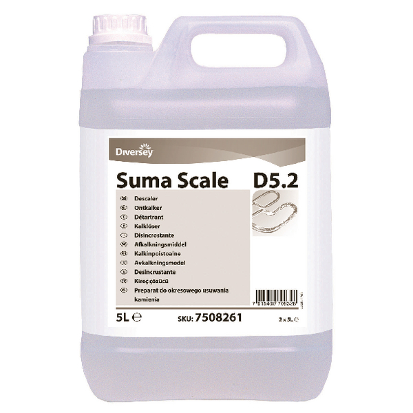 Diversey Suma Scale D5.2 Descaler 5 Litre (Pack of 2) 7516314