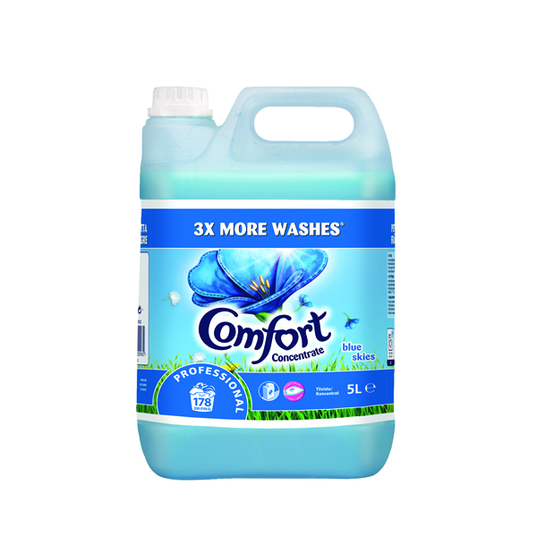 Comfort Professional Concentrated Fabric Softener Original 5L (Pack of 2) 7508522