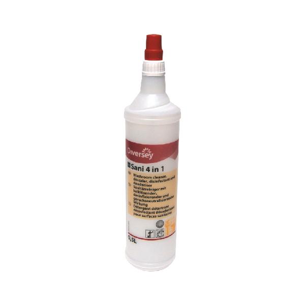 Diversey TASKI Sani 4in1 S W1 Foaming Bottle 0.5L 7524056