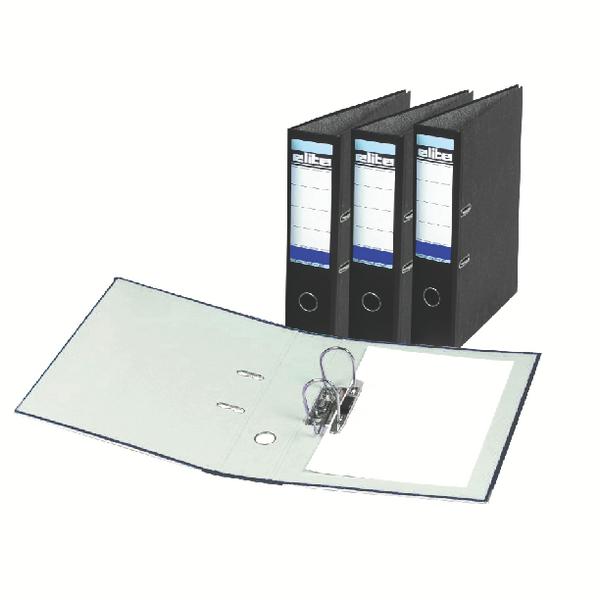 Rexel Elite A4 Lever Arch File 70mm Black (10 Pack) 26745EAST