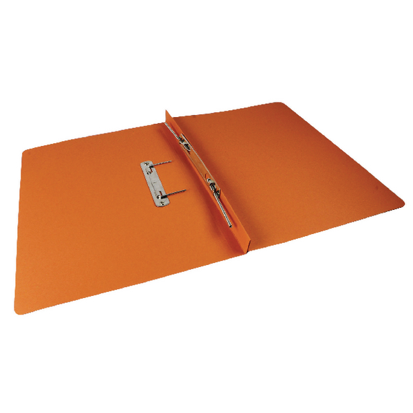 Rexel Orange Jiffex Foolscap Transfer File (Pack of 50) 43216EAST