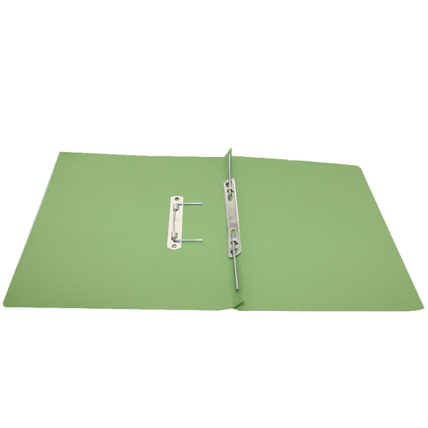 Rexel Jiffex Green A4 Transfer File (Pack of 50) 43244EAST