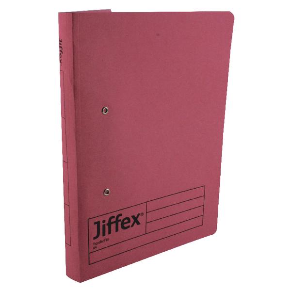 Rexel Jiffex Pink A4 Transfer File 43247EAST