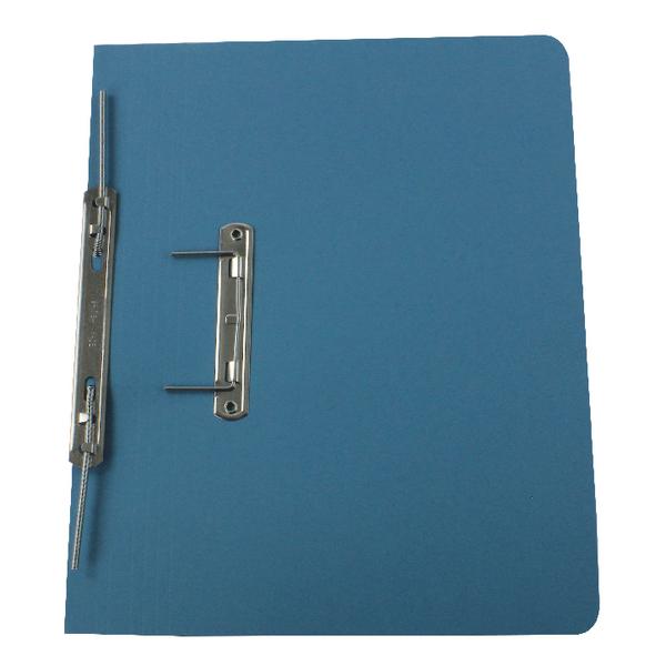 Rexel Blue Jiffex Foolscap Pocket File (Pack of 25) 43313EAST