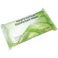 Ecotech Hand Surface Disinfect Wipes P40