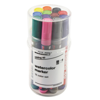 Edding Watercolour Marker Astd Tub12