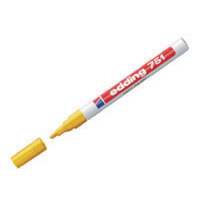 Edding 751 Paint Marker Fine Bullet Tip Yellow (Pack of 10) 751-005