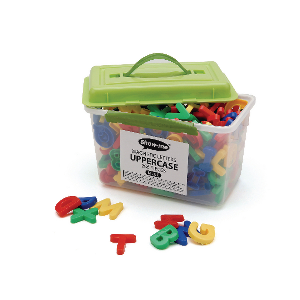 Show-Me Magnetic Upper Case Letters (286 Pack) MLUC