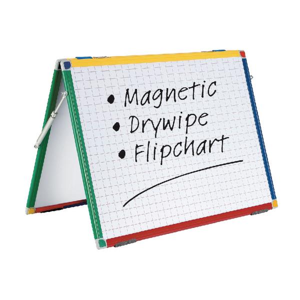 Show-Me A2 Magnetic Desktop Easel DTME