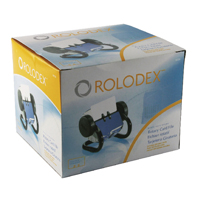 Image for Rolodex Classic 250 Rotary Open Card File Black S0793590