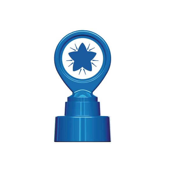 Image for Colop Motivational Stamp Blue Star MOTIVSTBE