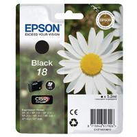 Epson 18 Black Inkjet Cartridge C13T18014010 / T1801