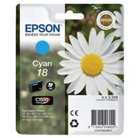 Epson 18 Cyan Inkjet Cartridge C13T18024010 / T1802