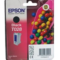 Epson T028 Black Inkjet Cartridge C13T02840110 / T0284