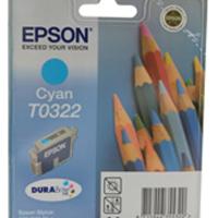 Epson Stylus C70 Cyan Inkjet Cartridge (Pack of 1) C13T03224010