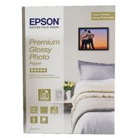 Epson Premium Glossy Photo Paper A4 Pack of 15 C13S042155