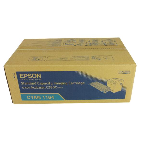 Epson S051164 Cyan Toner Cartridge C13S051164 / S051164