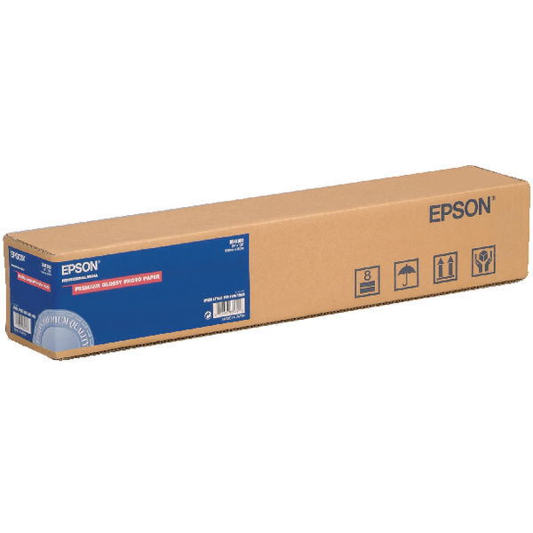 Image for Epson Premium Glossy Photo Paper Roll 24inx30.5m C13S041390