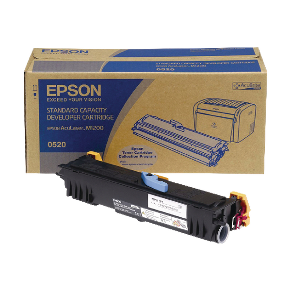 Epson AcuLaser M1200 Toner Cartridge 1.8K Black C13S050520