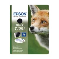 Epson T1281 Black Inkjet Cartridge C13T12814011 / T1281