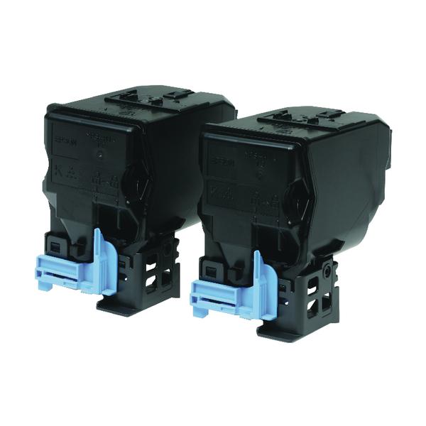 Epson S050594 Black Toner Cartridge (2 Pack) C13S050594 / S050594