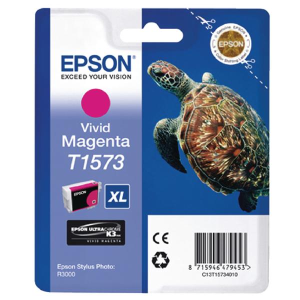 Epson T1573 Magenta Inkjet Cartridge C13T15734010 / T1573