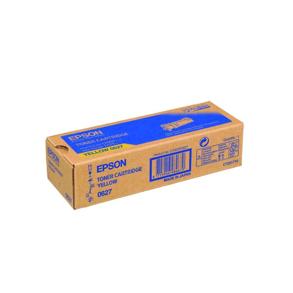 Epson S050627 Yellow Toner Cartridge C13S050627 / S050627