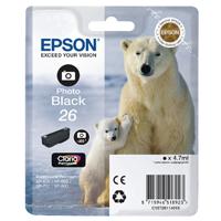 Epson 26 Photo Black Inkjet Cartridge C13T26114010 / T2611