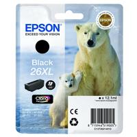 Epson 26XL High Yield Black Inkjet Cartridge C13T26214010 / T2621
