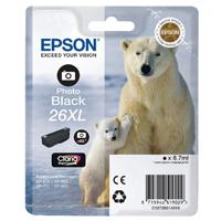 Epson 26XL Photo High Yield Black Inkjet Cartridge C13T26314010 / T2631