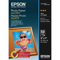 Epson Photo Paper Glossy 13x18cm 200gsm (Pack of 50) C13S042545