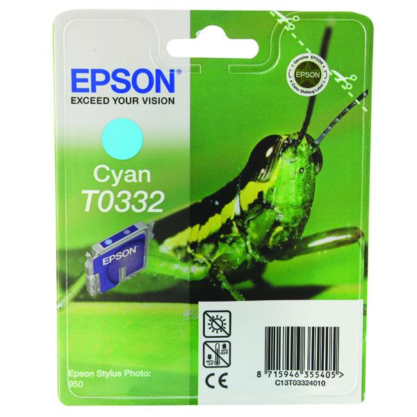 Epson Stylus Pro 9600 Light Cyan Inkjet Cartridge C13T544500
