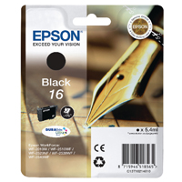Epson Pen and Crossword Ink Cart Blk C13T16214010