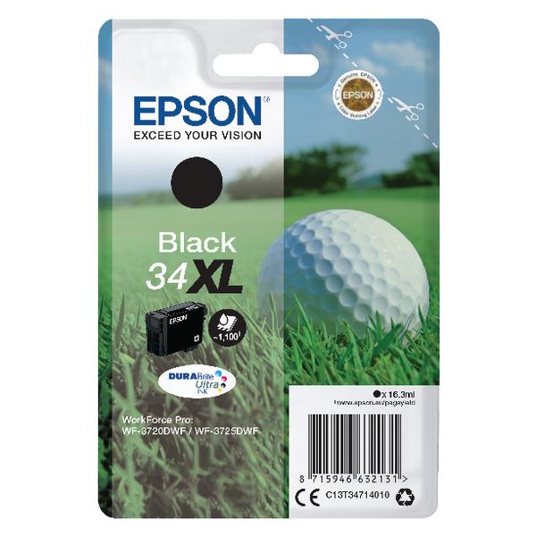 Epson Black 34XL DURABrite Ink