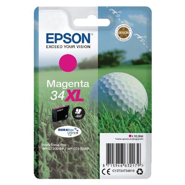 Epson Magenta 34XL DURABrite Ink