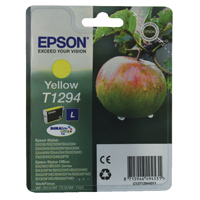 Epson T1294 Yellow High Yield Inkjet Cartridge C13T12944010 / T1294
