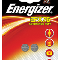 Energizer SR44/EPX76 Speciality Silver Oxide Batteries (Pack of 2) 611337