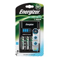 Energizer One Hour Charger2500 mAh with 4x AA Batteries (Pack of 1) 630721