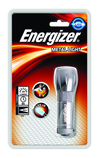 Energizer Small Metal Torch uses 3xAAA (WGYC)