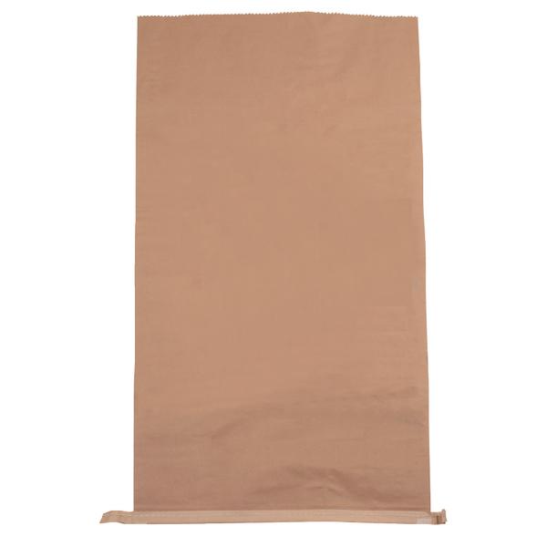 Plain Paper Waste Sack 485x150xH910 Brn